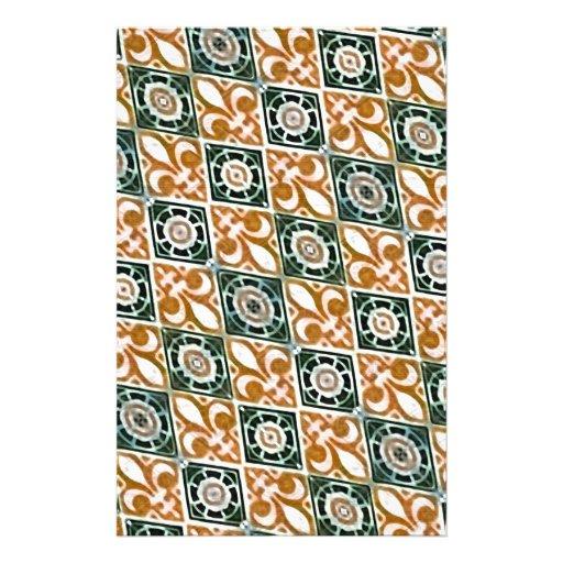 Fabric Decorative Background Stationery