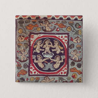 Fabric depicting Venus Anadyomene, from Antinoe Pinback Button