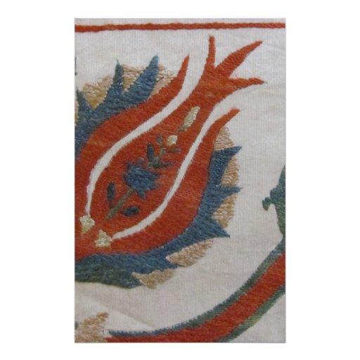 Fabric Design Customized Stationery
