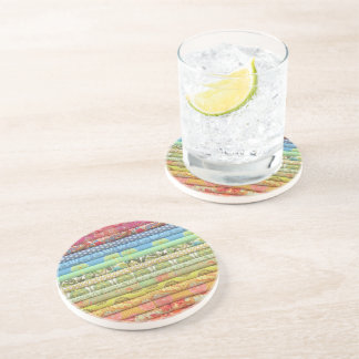 fabric designs.... drink coaster