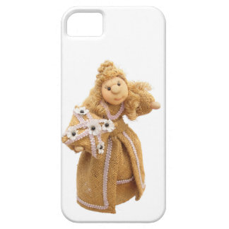 Fabric Doll 1 iPhone SE/5/5s Case