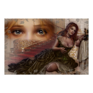 fabric eyes poster