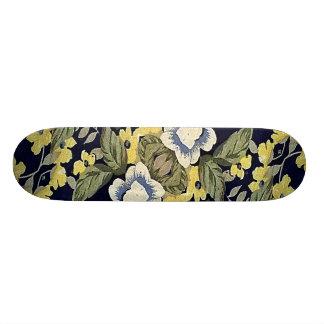 Fabric Floral Decorative Background Pattern Skate Board Decks