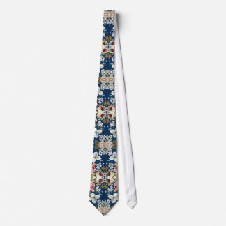 Fabric Floral Decorative Background Pattern Tie