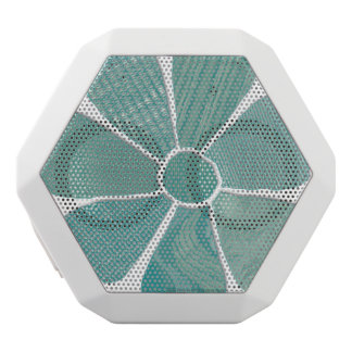 Fabric Flower Collage Choose Your Own Color White Bluetooth Speaker