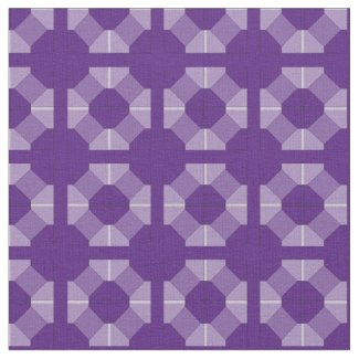 Fabric - Geometric Circles and Squares