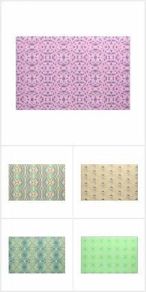Fabric, Geometric Patterns