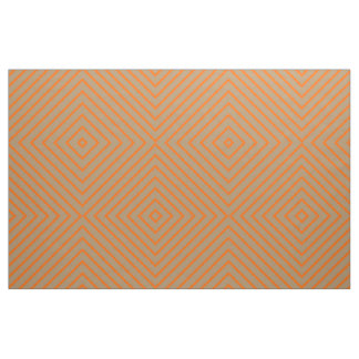 Fabric Gold with Orange Stripes