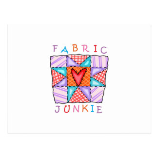 Fabric Junkie Postcard