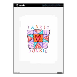 Fabric Junkie Decals For iPad 3