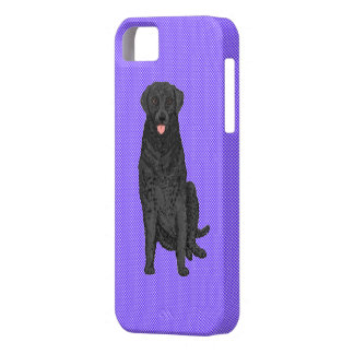 Fabric Look with labradordog  iphone case