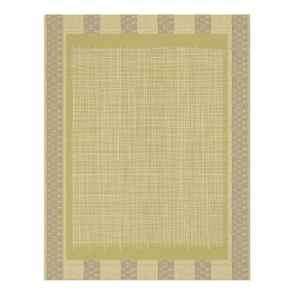 Fabric n Threads Look   : Special Soft Colors Letterhead