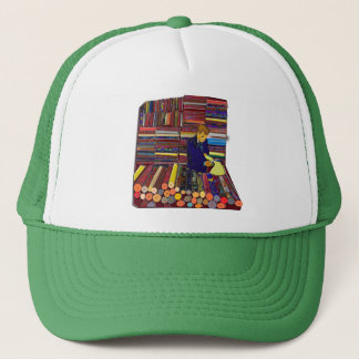 fabric or vinyl smple bolts designers store trucker hat