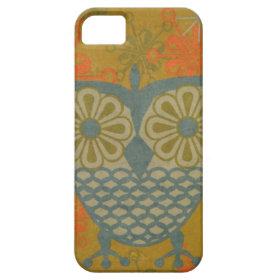 Fabric Owl iPhone 5 Cases
