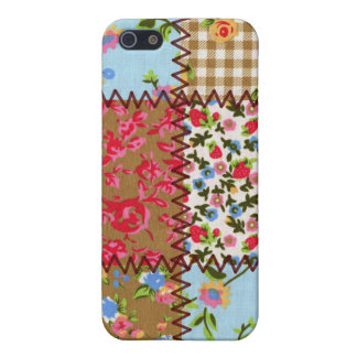 Fabric Patchwork iPhone 4 Speckcase Cover For iPhone 5