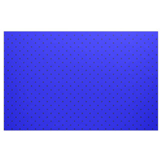 Fabric Royal Blue with Dark Blue Dots