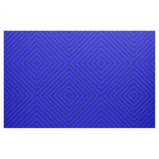 Fabric Royal Blue with Dark Blue Stripes
