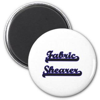 Fabric Shearer Classic Job Design 2 Inch Round Magnet