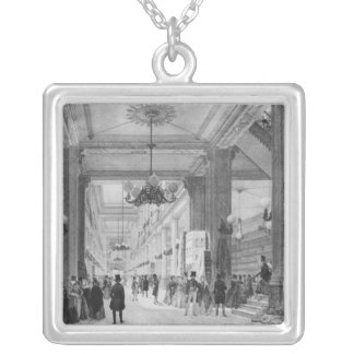 Fabric Shop, 9 rue de la Chaussee d'Antin Silver Plated Necklace