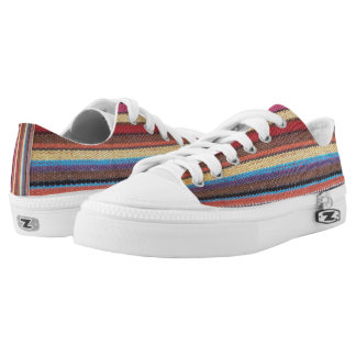 Fabric Stripes I + your ideas Low-Top Sneakers