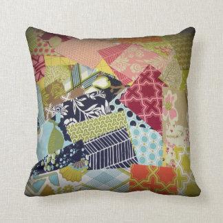 Fabric Swatch Study Design #11 Throw Pillow