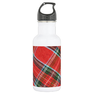 Fabric texture stainless steel water bottle