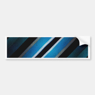 Fabric Texture Tech Pattern Bumper Sticker
