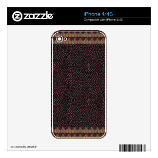 Fabric Texture Template add TEXT GREETING image 99 iPhone 4 Decal