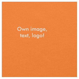 Fabric uni Orange