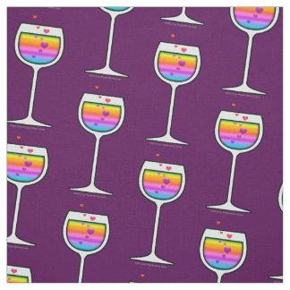 FABRIC - WINE GLASS