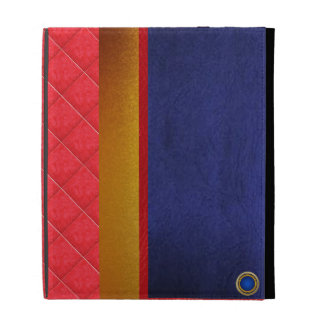 Fabric Wrapped High Quality iPad Hardcover case iPad Case