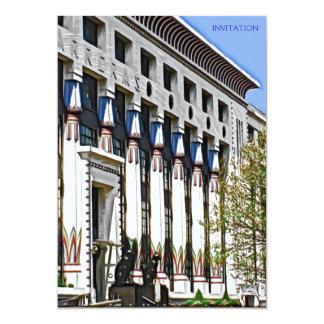 """fábrica anterior de Carreras, Londres Invitación 5"""" X 7"""""""