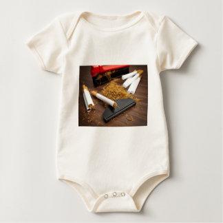 Fábrica casera del tabaco body para bebé