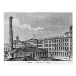 Fábrica de algodón de Foudre del La Tarjetas Postales