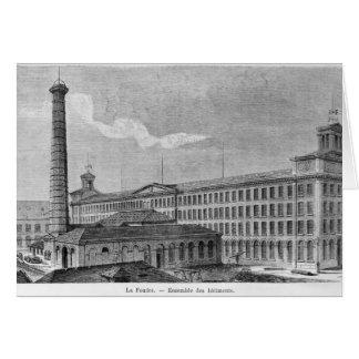 Fábrica de algodón de Foudre del La Tarjetón