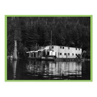 Fábrica de conservas flotante, ensenada Elfin Tarjeta Postal