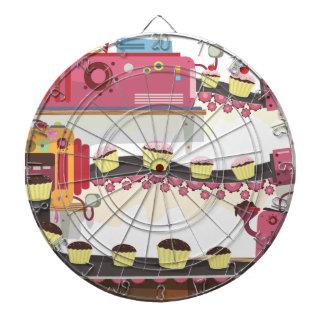 Fábrica de la torta tabla dardos
