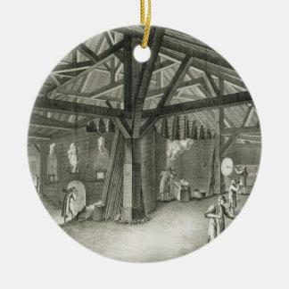 """Fábrica de la vidriería, de la """"enciclopedia"""" por  ornamente de reyes"""