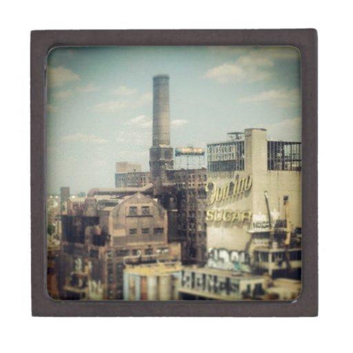 Fábrica del azúcar de Brooklyn Cajas De Joyas De Calidad