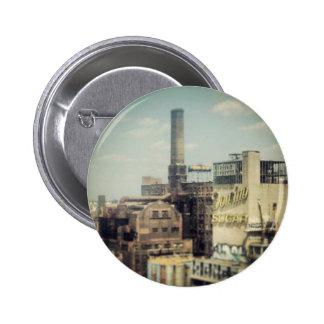 Fábrica del azúcar de Brooklyn Pin Redondo 5 Cm