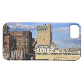 Fábrica del azúcar del dominó del horizonte de NYC iPhone 5 Protector