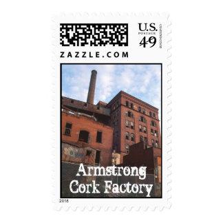 Fábrica del corcho de Armstrong, fábrica del Sello