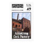 Fábrica del corcho de Armstrong, fábrica del Franqueo