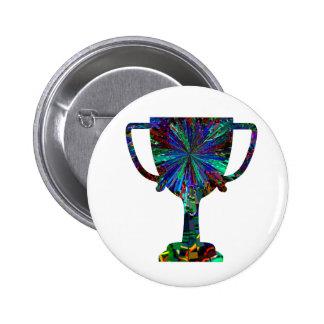 Fábrica del diseño del premio - inspire la excelen pin redondo 5 cm
