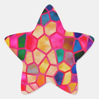 Fábrica del diseño del premio - inspire la pegatina en forma de estrella