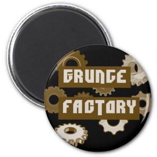 Fábrica del Grunge Imán Redondo 5 Cm