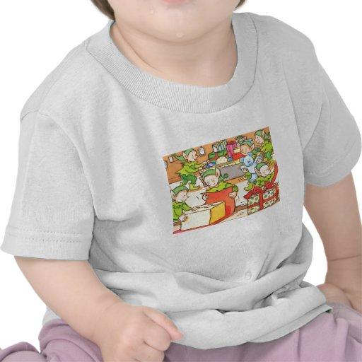 Fábrica del navidad camisetas