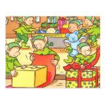Fábrica del navidad postales