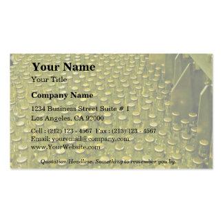 Fábrica del refresco tarjetas de visita
