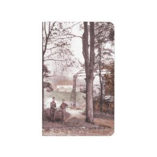 Fábrica Francia del globo de presa Cuaderno